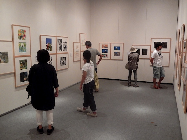 My illustrations at the Itabashi Museum