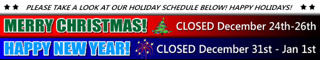 Holiday Schedule (new) 2014