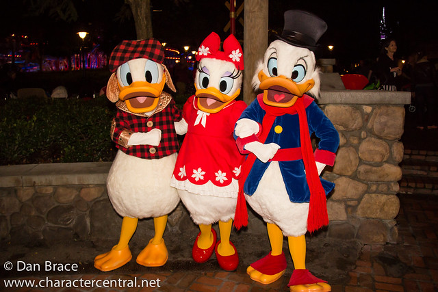 Meeting Donald, Daisy and Scrooge