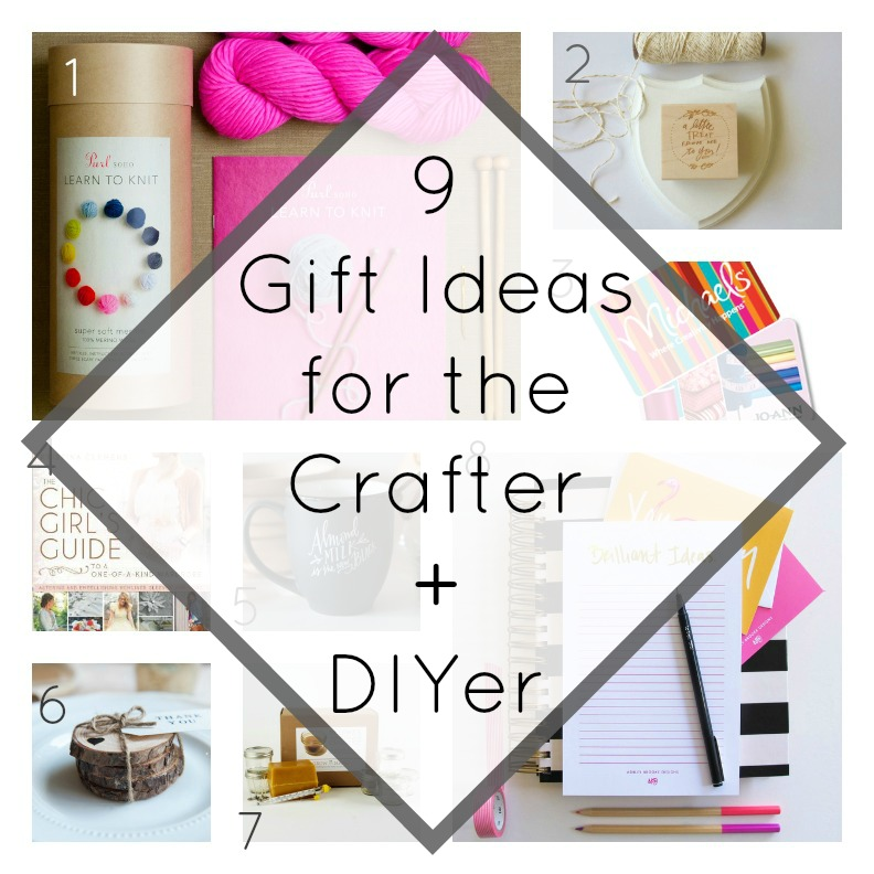 9 gift ideas for the crafter and diyer