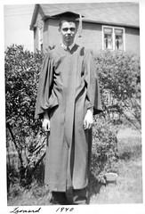 Dad HS Grad 1940 Hibbing HS