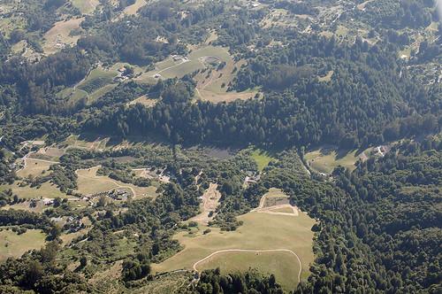 california sanandreasfault geology watsonville geomorphology aerialphotograph santacruzcounty hazeldell sagpond simaslake