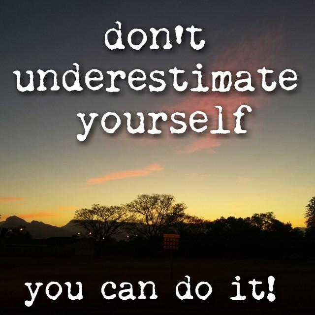 SoulRiser - don't underestimate yourself