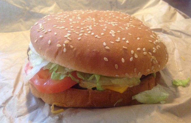 Burger King Four Cheese Whopper