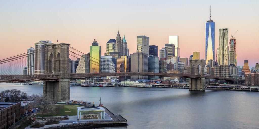 NYC Skyline - Lower Manhattan