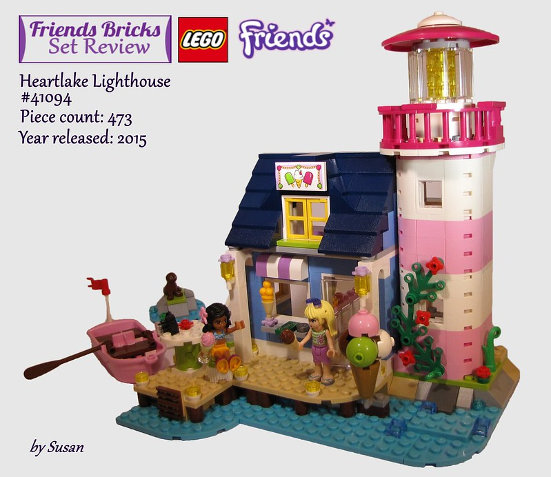 Heartlake Times Review 41094 Heartlake Lighthouse