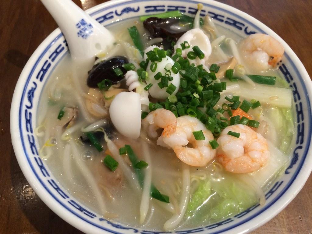 海鮮五目香港麺