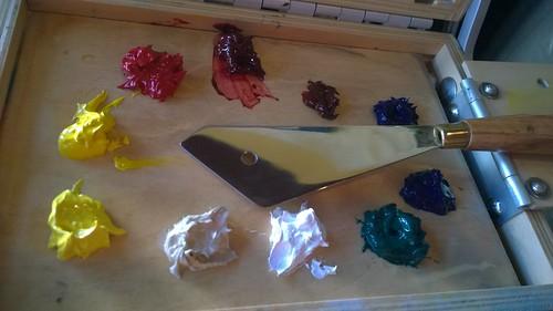 My Jugaad Painting Knife