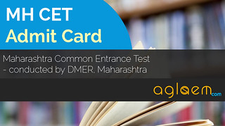MH CET 2015 Admit Card