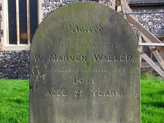 W Marven Waller, 1833