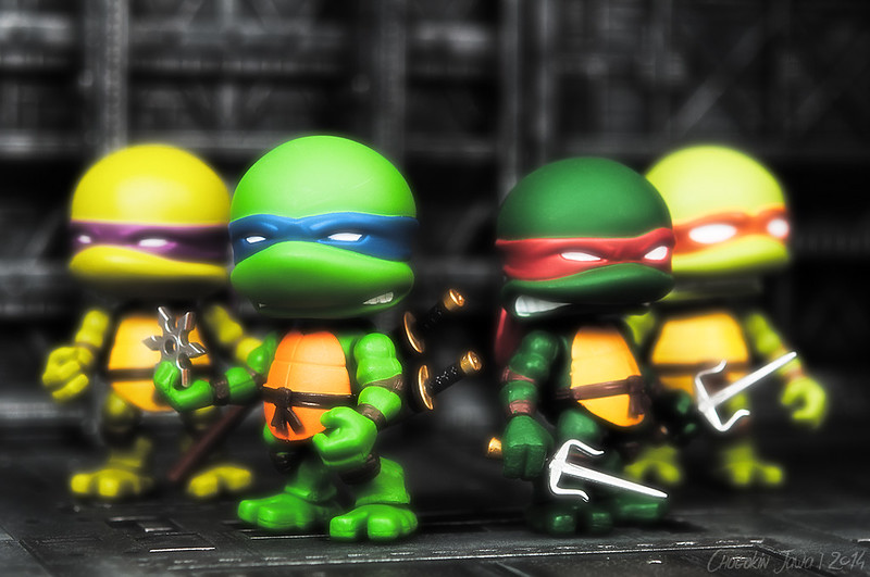 Teenage Mutant Ninja Turtles by The Loyal Subjects 16120921682_ecb76e7a64_c