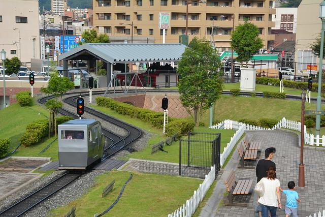 九州鉄道記念館:ミニ鉄道公園
