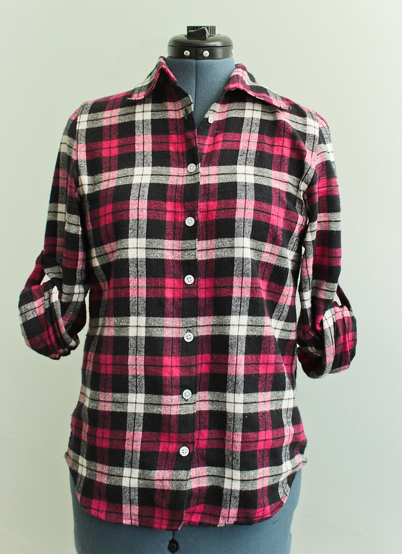 {Butterick 5526} Pink Plaid Flannel