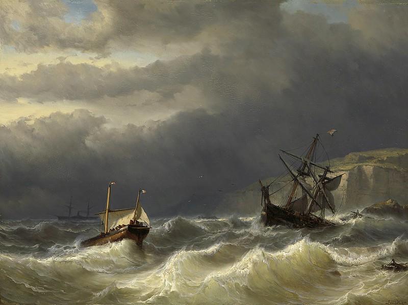 Louis Meijer - Storm in het Nauw van Calais