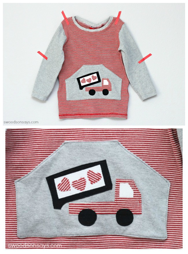 Valentine's Day Applique for Boys