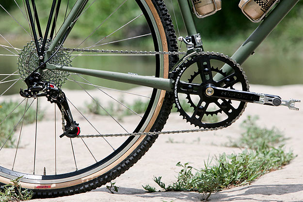 MTB Bicycle 42-33-24T Chainring Cranksets 7//8//9 Speed Mountain Bike Crank Sets