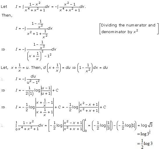 RD Sharma Class 12 Solutions Chapter 20 Definite Integrals Ex 20.2 Q33