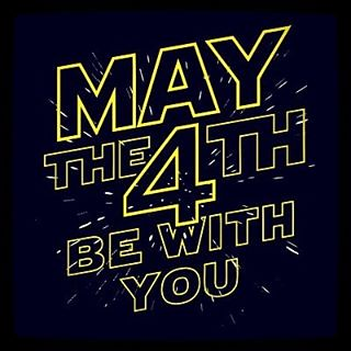 Happy Star Wars Day! #maythe4th #maythefourthbewithyou #starwarsday