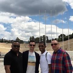 #panathinaikostadium #Olympicstadium Day 2 on the go in #Athens #greece #vacation