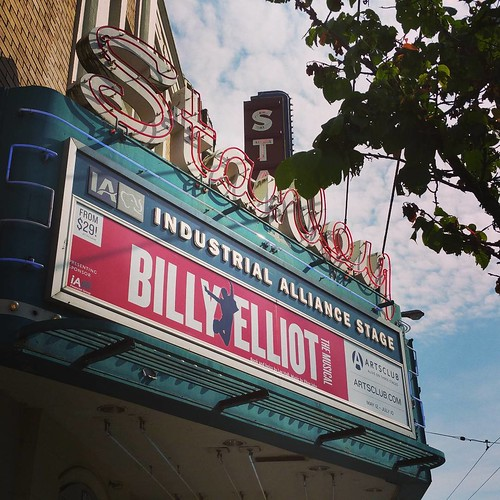 The Musical Billy Elliot at Stanley Theatre in Vancouver