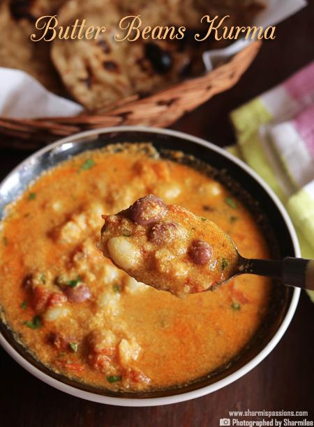 Butter Beans Kurma Recipe