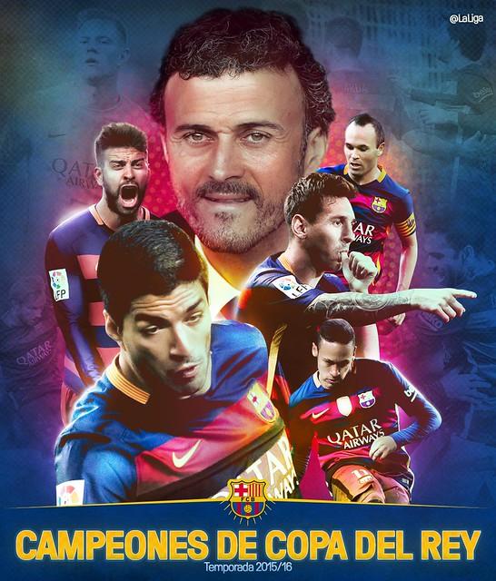 El FC Barcelona Campeón de la Copa del Rey