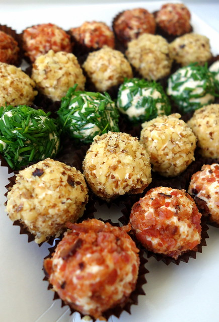 Cheese truffles