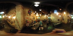 The Sorcerer's Workshop at the California Adventure Park - a 360° Equirectangular VR