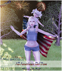 {Babysteps} All American Girl Pose