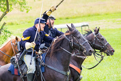 Union Cavalry Charge