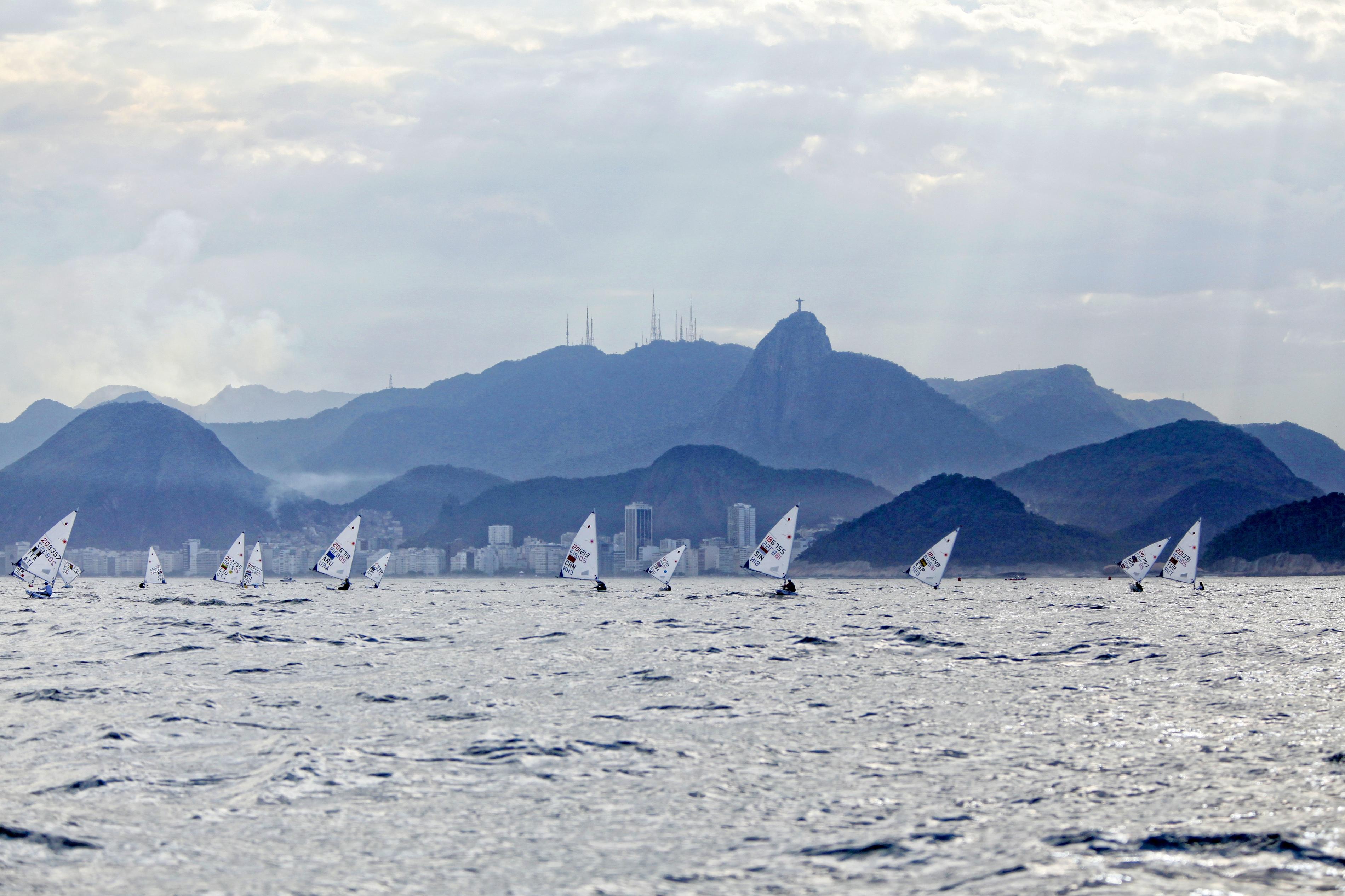 Test-Event Rio 2015 - Mathilde de Kérangat_Copyright C. Launay-FFVoile