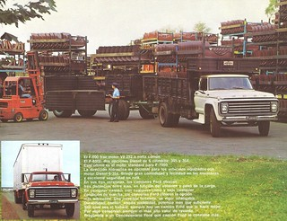 1981 Ford Trucks in Argentina