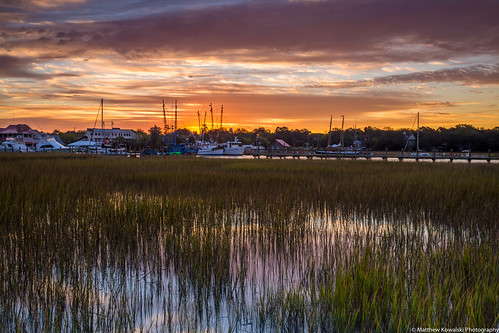 sunrise canon boats morninglight dock mountpleasant southcarolina charleston shrimpboat shemcreek