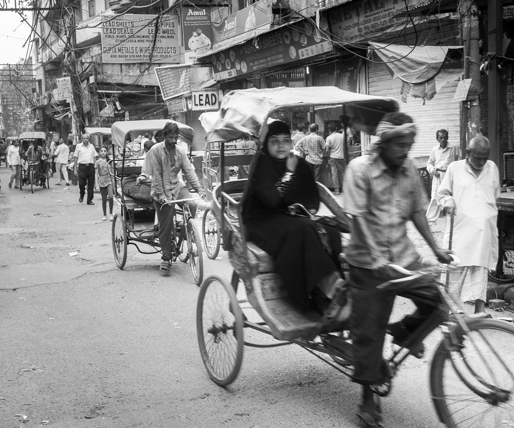 Old Delhi Rickshaws