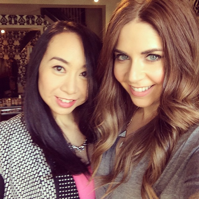 clairol shift a shade event with Shayna