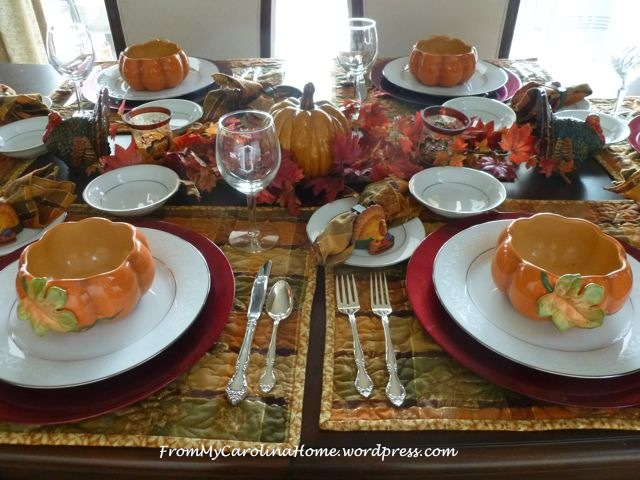 Thanksgiving Tablescape 6