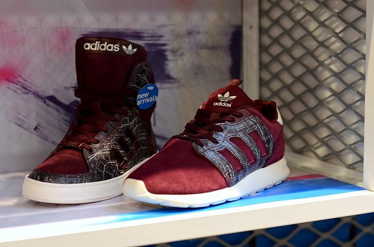 DSC_7074 Burgundy Adidas Sneakers, Tamara Chloé