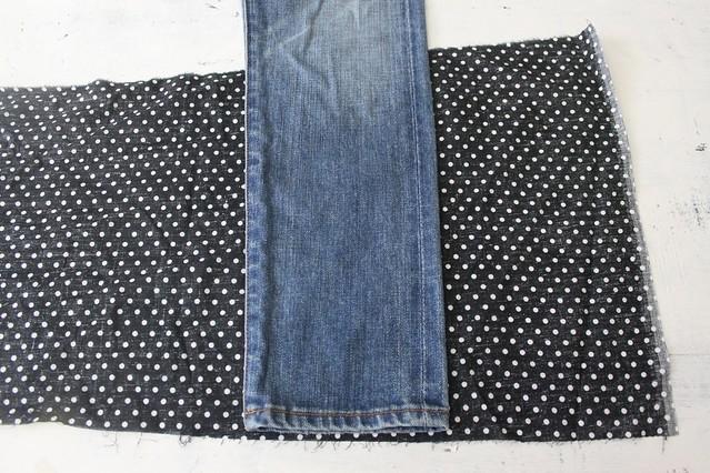How to cuff denim pants inHow to make turn up cuff jeans www.apairandasparediy.com
