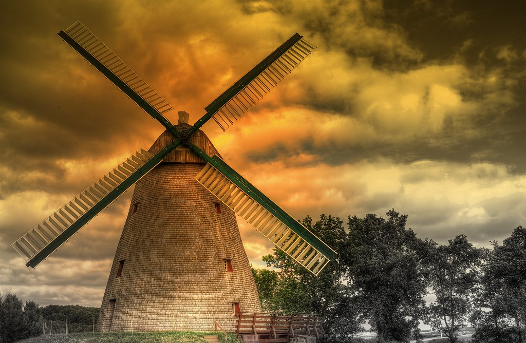 Windmill (ART) Vlotho Exter-Germany