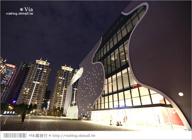 【大都會歌劇院】台中國家歌劇院~夜間水舞篇。光舞紀/光影藝術節5
