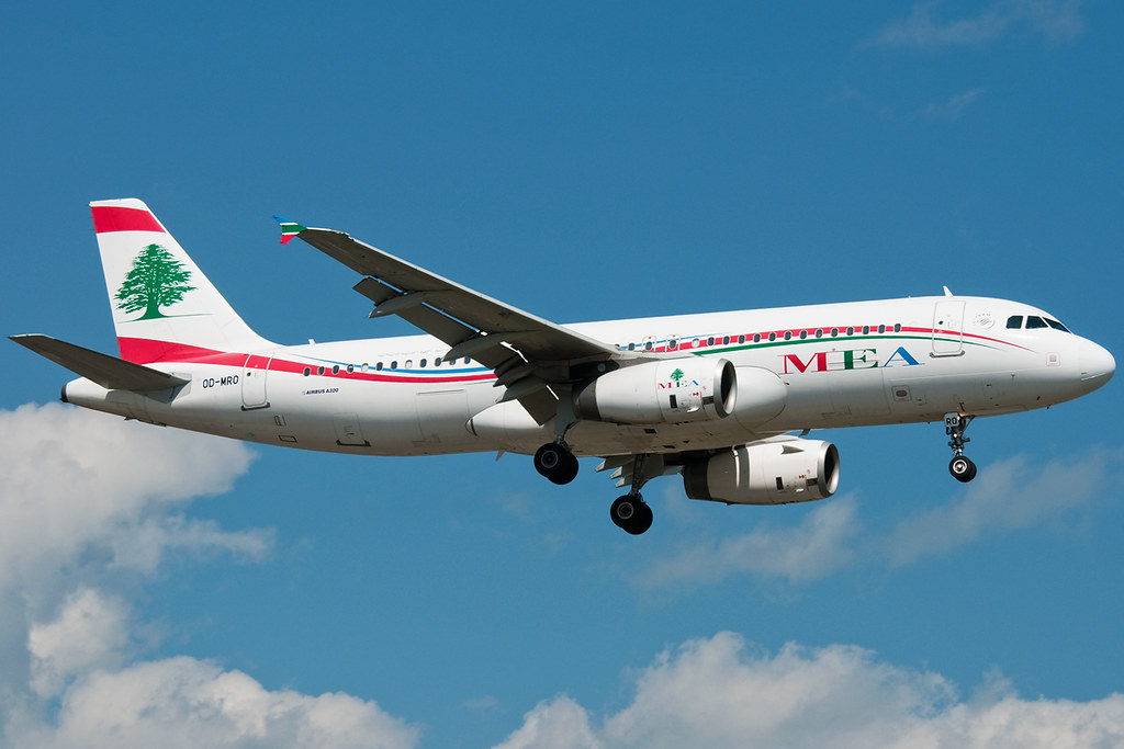 OD-MRO - A320 - MEA