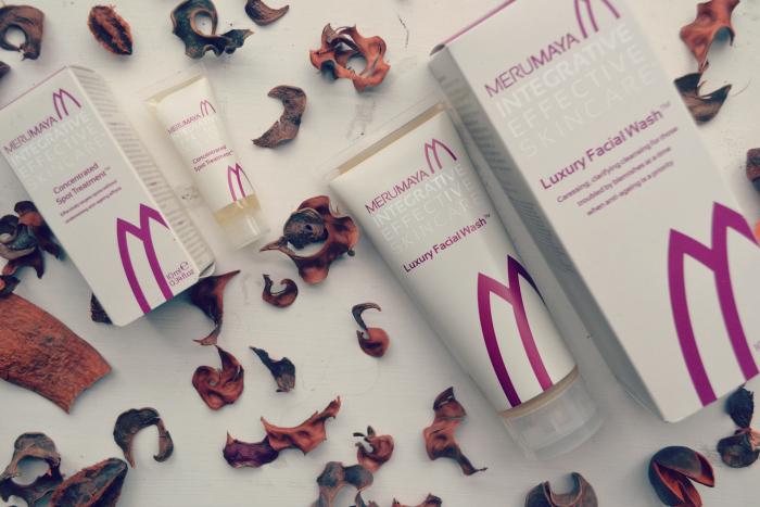 Merumaya skincare facial wash