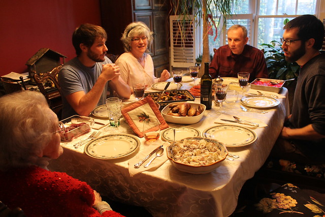 Christmas Dinner. from Flickr via Wylio
