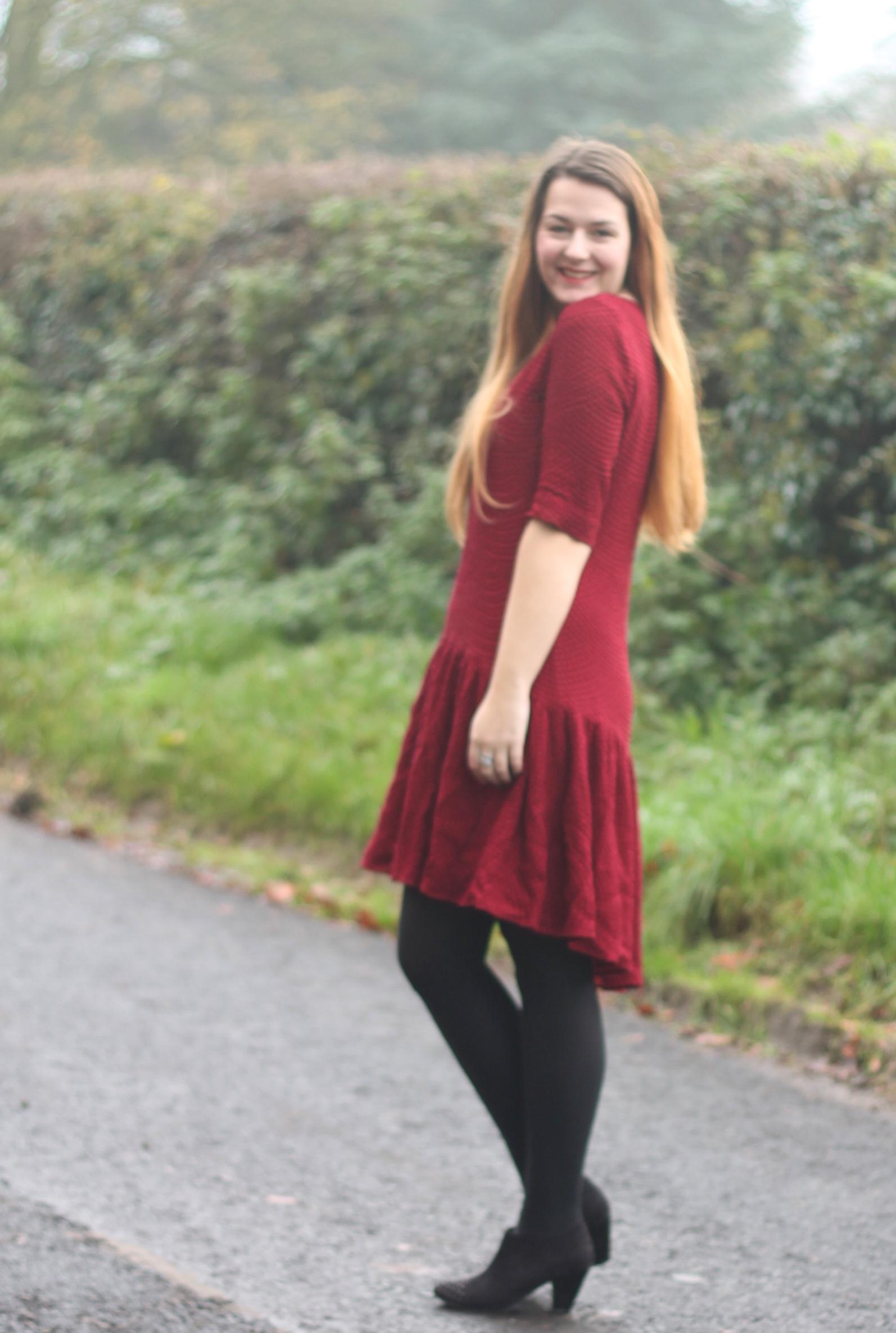 Drop Waisted dress