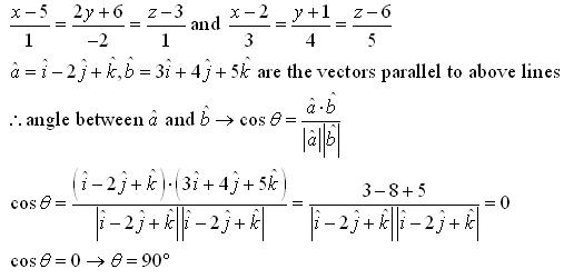 RD Sharma Class 12 Solutions Chapter 28 Straight Line in Space Ex 28.2 Q2-v