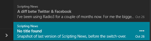 Scripting News - With Titles
