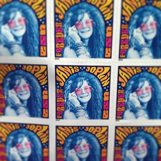 #janisjoplin #stamps #love #music