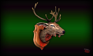Trophy Deer Zombie [ by nemoriko ]
