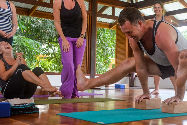 14-day yoga teacher training immersion instructor Yogi Aaron