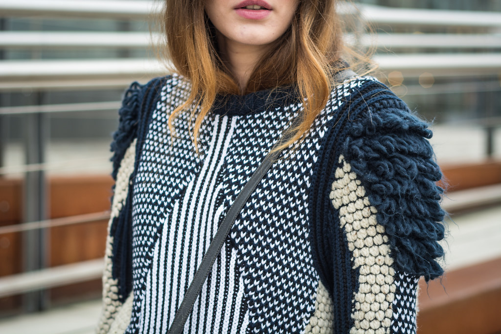 &other stories knit sweater | Lisa Fiege